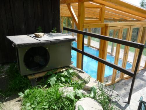 Tepelné čerpadlo pro ohřev bazénu