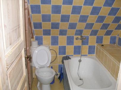 Koupelna na pokoji č.8