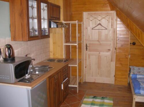 Kuchyňka na pokoji č.8