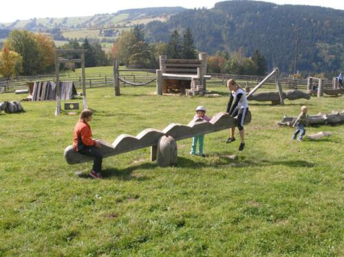 Farma Huculů prolejzačky